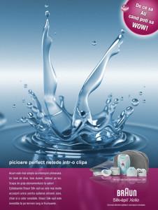 Braun - SilkEpil - print-ad