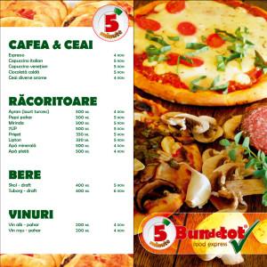 Bundetot - menu