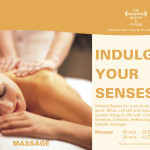 Hilton - Flyer massage