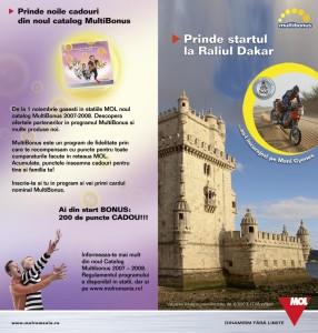 MOL - Dakar campaign leaflet