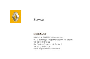 Mach1 Service - generic business card