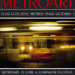 Metroart - Exhibition poster