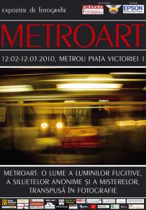 Metroart - Exhibition poster