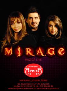 Mirage - live music
