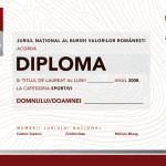 RTV - 10 for Romania - diploma