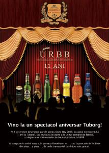 URBB - 11 years - Anniversary poster