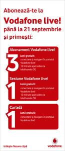 Vodafone - totem live