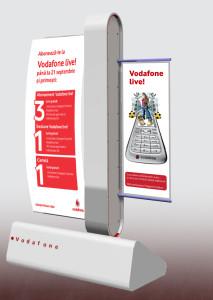 Vodafone - store - totem live sim