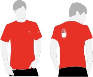 Vodafone - Student GiveMe5 t-shirt