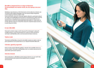 Vodafone - BlackBerry Brochure RO