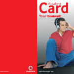 Vodafone - Card Brochure EN