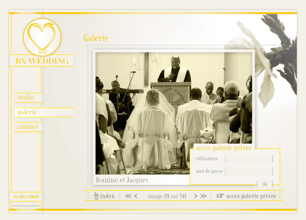 BX Wedding - password page