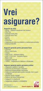 Volksbank - flyer insurance
