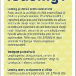 Volksbank - flyer leasing