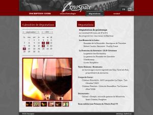 Oenospace - calendar