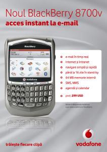 Vodafone - BlackBerry - poster