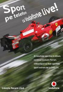 Vodafone - poster - sport