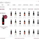 Vins en Vignes - filter page