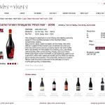 Vins en Vignes - wine info page